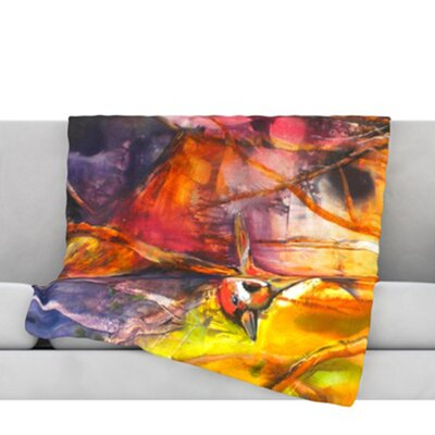 In Depth Fleece Throw Blanket Size: 40 L x 30 W