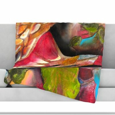 Glimpse Fleece Throw Blanket Size: 60 L x 50 W