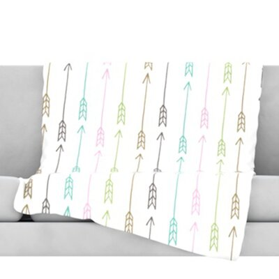 William Tell Fleece Throw Blanket Size: 60 L x 50 W