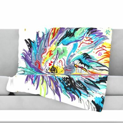 Daily Fleece Throw Blanket Size: 60 L x 50 W