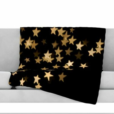 Twinkle Fleece Throw Blanket Size: 40 L x 30 W