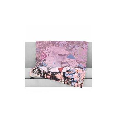 Unicorn Fleece Throw Blanket Size: 80 L x 60 W