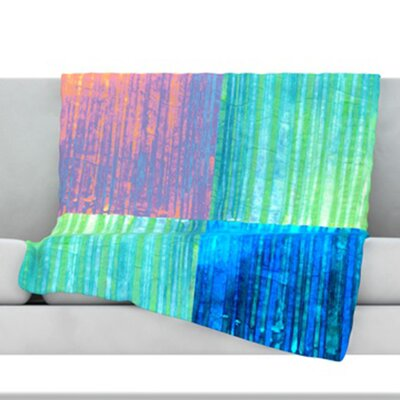 Crayon Batik Throw Blanket Size: 60 L x 50 W