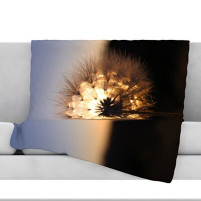 Glow Fleece Throw Blanket Size: 40 L x 30 W