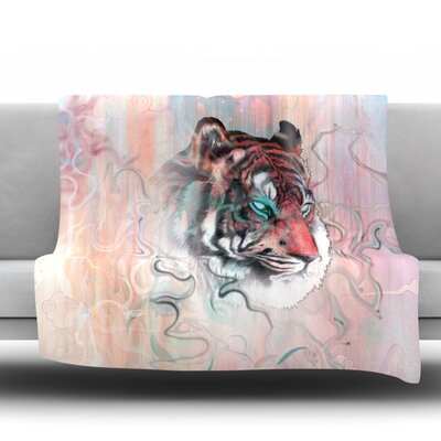 Illusive By Nature Throw Blanket Size: 80 L x 60 W