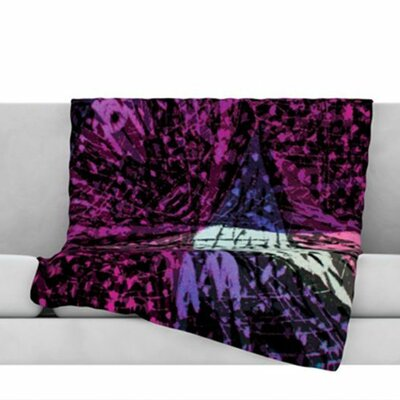 Family 3 Fleece Throw Blanket Size: 80 L x 60 W