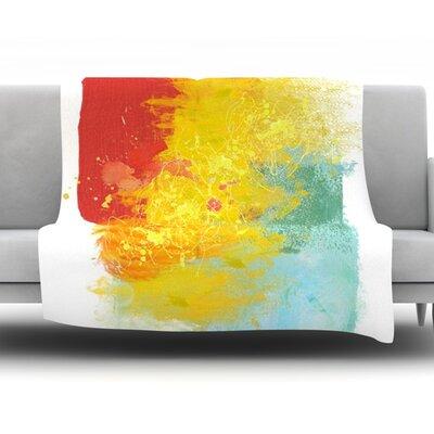 Medley by Oriana Cordero Fleece Throw Blanket Size: 60 H x 50 W x 1 D