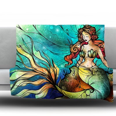 Serene Siren Throw Blanket Size: 40 L x 30 W
