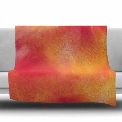 Unconditional Love Fleece Throw Blanket Size: 40 L x 30 W