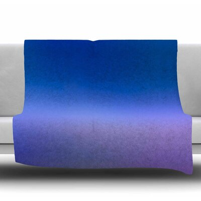 Aura Series #5 Fleece Throw Blanket Size: 40 L x 30 W