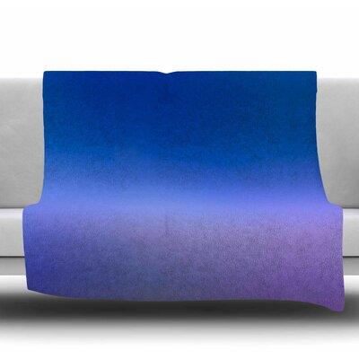 Aura Series #5 Fleece Throw Blanket Size: 60 L x 50 W