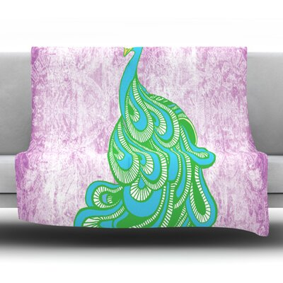 Beauty in Waiting Fleece Throw Blanket Size: 40