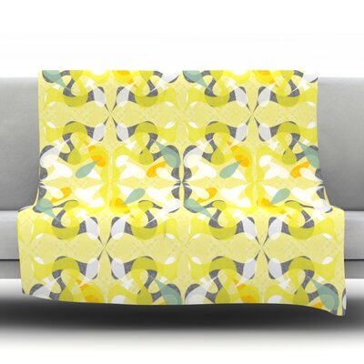 Spring Flourish Throw Blanket Size: 60 L x 50 W
