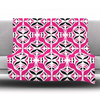 Throw Blanket Size: 40 L x 30 W, Color: Think Pink
