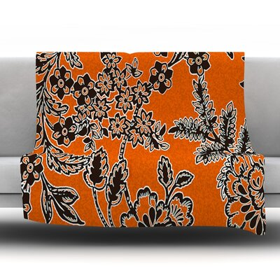 Throw Blanket Size: 40 L x 30 W, Color: Blossom