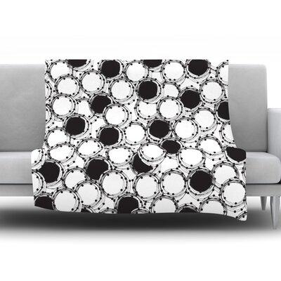 Beaded Bangles by Nandita Singh Fleece Throw Blanket Size: 90 H x 90 W x 1 D