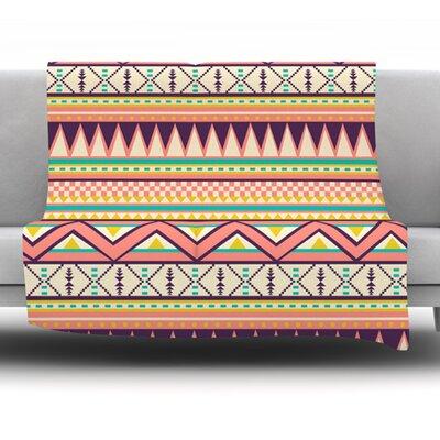 Ethnic Love by Louise Machado Fleece Blanket Size: 60