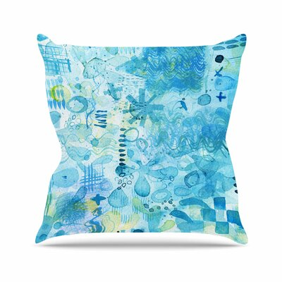 Floating Throw Pillow Size: 20