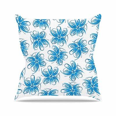 Flower Centaur 1 Throw Pillow Size: 20