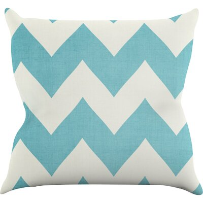 Salt Water Cure Outdoor Throw Pillow Size: 16 H x 16 W x 3 D