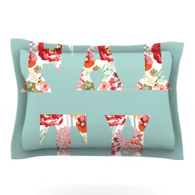 FAITH by Suzanne Carter Featherweight Pillow Sham Size: King, Fabric: Cotton