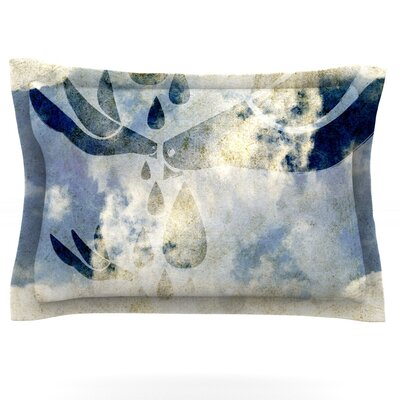 Doves Cry by iRuz33 Featherweight Pillow Sham Size: King, Fabric: Cotton