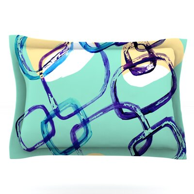 Sixties Exposure by Theresa Giolzetti Featherweight Pillow Sham Size: Queen, Fabric: Cotton