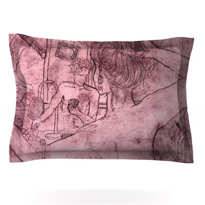 Magic Tricks by Theresa Giolzetti Featherweight Pillow Sham Size: Queen, Fabric: Cotton