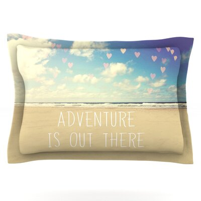 Adventure is Out There by Sylvia Cook Featherweight Pillow Sham Size: King, Fabric: Cotton