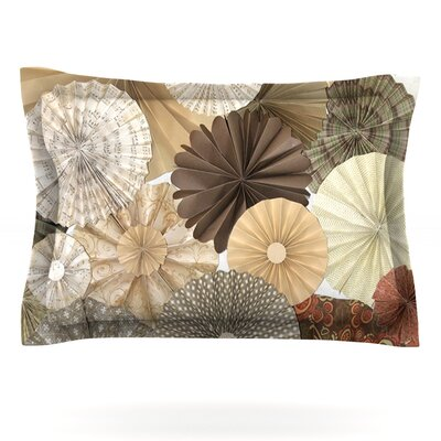 Dusty Road by Heidi Jennings Featherweight Pillow Sham Size: Queen, Fabric: Cotton