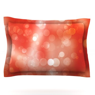 Passion Fruit Featherweight Pillow Sham Size: King, Fabric: Cotton