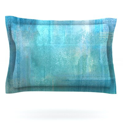 Eye Candy by CarolLynn Tice Featherweight Pillow Sham Size: King, Fabric: Cotton