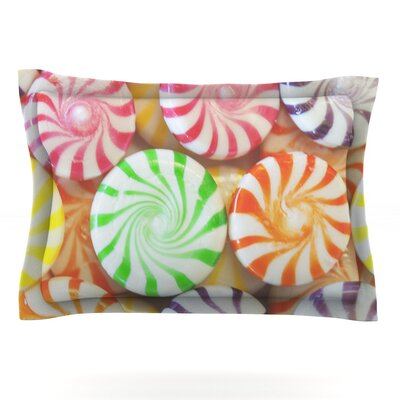 I Want Candy by Libertad Leal Featherweight Pillow Sham Size: King, Fabric: Cotton