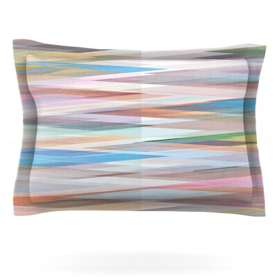 Nordic Combination II by Mareike Boehmer Featherweight Pillow Sham Size: Queen, Fabric: Cotton
