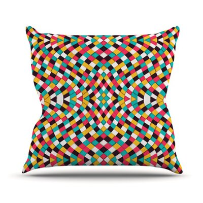 Retro Grade Throw Pillow Size: 18 H x 18 W