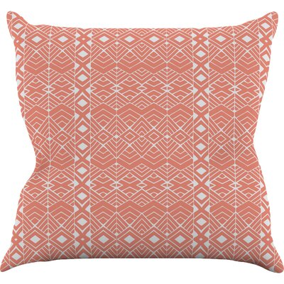 Aztec Roots by Pom Graphic Tribal Throw Pillow Size: 16 H x 16 W x 3 D