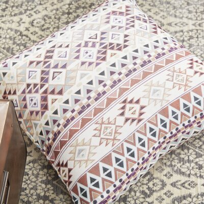 Tribal Native in Pastel by Nika Martinez Throw Pillow Size: 26 H x 26 W x 5 D