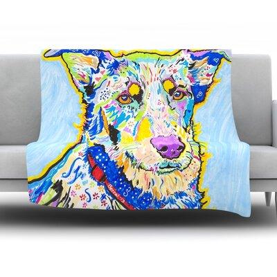 Becca by Rebecca Fischer Fleece Throw Blanket Size: 60 H x 50 W x 1 D