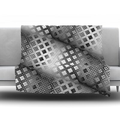 Array Decay by Michael Sussna Fleece Throw Blanket Size: 40 H x 30 W x 1 D