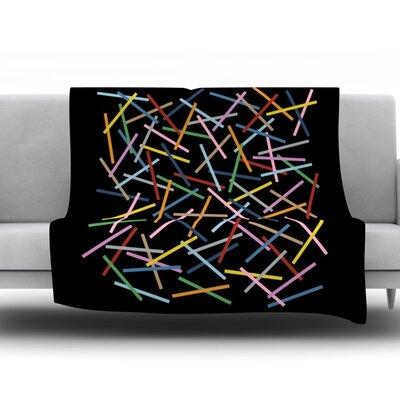 Sprinkles by Project M Fleece Throw Blanket Size: 60 H x 50 W x 1 D