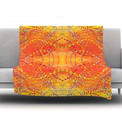Sunrise by Nikposium Fleece Throw Blanket Size: 60 H x 50 W x 1 D