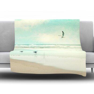 Away We Go by Sylvia Cook Fleece Throw Blanket Size: 40 H x 30 W x 1 D