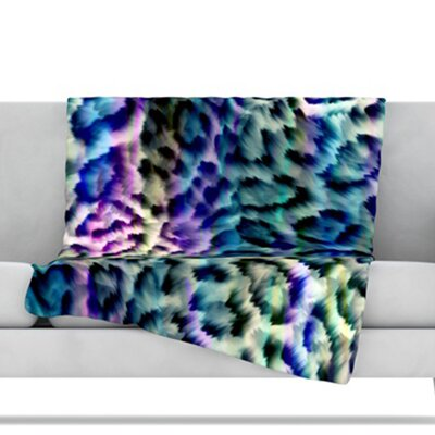 Wild Throw Blanket Size: 80 L x 60 W