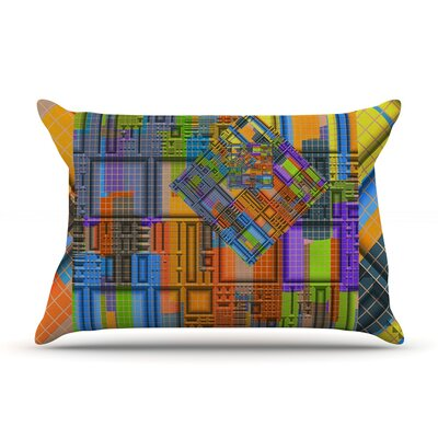 Michael Sussna 'Tile Rep' Abstract Pillow Case