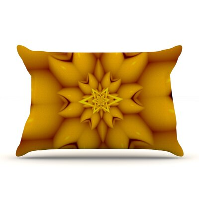 Citrus Star by Michael Sussna Featherweight Pillow Sham Size: Queen, Fabric: Woven Polyester
