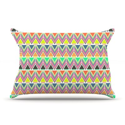 Pattern Play by Nandita Singh Featherweight Pillow Sham Size: Queen, Fabric: Woven Polyester