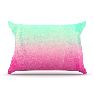 Sunny Melon by Monika Strigel Featherweight Pillow Sham Size: King, Fabric: Woven Polyester