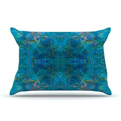Nikposium Clearwater Pillow Case Color: Blue/Teal