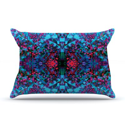 Nikposium Boysenberry Pillow Case Color: Blue/Purple