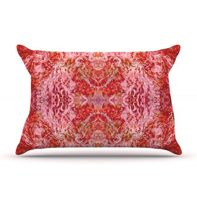 Nikposium Chili Pink Red Featherweight Sham Size: King, Fabric: Woven Polyester